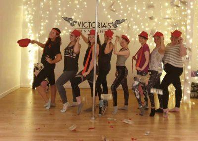 Victorias-Hen-Do-Parties-Wigan-Aerial-Hoop-Pole-Fitness